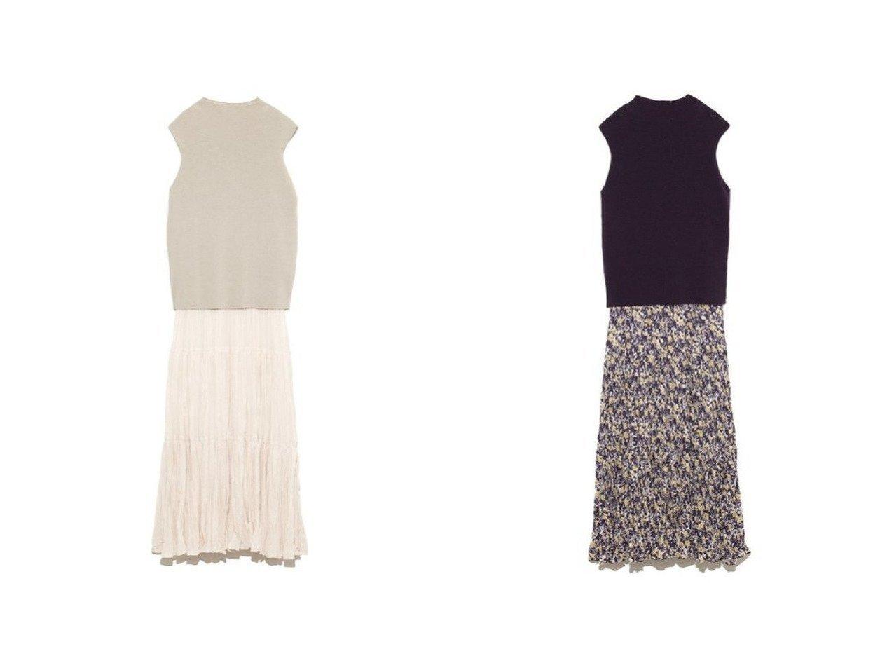 【Mila Owen/ミラオーウェン】のハイネックNTドッキングワッシャーOP ワンピース・ドレスのおすすめ!人気、トレンド・レディースファッションの通販 おすすめで人気の流行・トレンド、ファッションの通販商品 メンズファッション・キッズファッション・インテリア・家具・レディースファッション・服の通販 founy(ファニー) https://founy.com/ ファッション Fashion レディースファッション WOMEN ワンピース Dress マキシワンピース Maxi Dress ドッキング ノースリーブ ハイネック マキシ ロング ワッシャー |ID:crp329100000014057