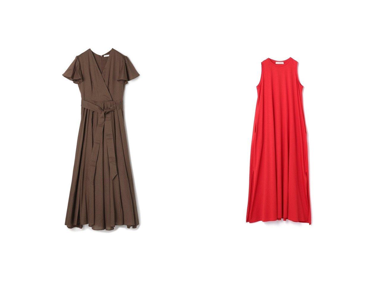 【ESTNATION/エストネーション】のジャージーマキシワンピース&【MARIHA/マリハ】のウエストリボンフレアワンピース おすすめ!人気、トレンド・レディースファッションの通販  おすすめで人気の流行・トレンド、ファッションの通販商品 メンズファッション・キッズファッション・インテリア・家具・レディースファッション・服の通販 founy(ファニー) https://founy.com/ ファッション Fashion レディースファッション WOMEN ワンピース Dress マキシワンピース Maxi Dress リゾート 再入荷 Restock/Back in Stock/Re Arrival |ID:crp329100000014074