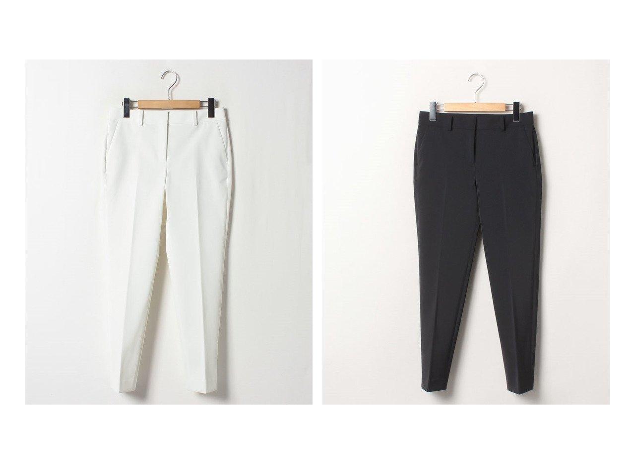 【Theory Luxe/セオリーリュクス】のテーパードパンツ NEW LUCENT SELOSI T おすすめ!人気、トレンド・レディースファッションの通販  おすすめで人気の流行・トレンド、ファッションの通販商品 メンズファッション・キッズファッション・インテリア・家具・レディースファッション・服の通販 founy(ファニー) https://founy.com/ ファッション Fashion レディースファッション WOMEN パンツ Pants ストレッチ フィット ポケット |ID:crp329100000014095