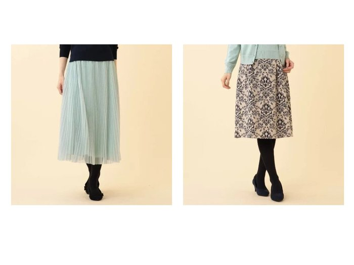 【Reflect/リフレクト】のチュールプリーツスカート&アラベスク柄フレアスカート スカートのおすすめ!人気、トレンド・レディースファッションの通販 おすすめファッション通販アイテム インテリア・キッズ・メンズ・レディースファッション・服の通販 founy(ファニー) https://founy.com/ ファッション Fashion レディースファッション WOMEN スカート Skirt Aライン/フレアスカート Flared A-Line Skirts プリーツスカート Pleated Skirts なめらか アシンメトリー クラシック ピーチ フレア プリント ポケット |ID:crp329100000014136