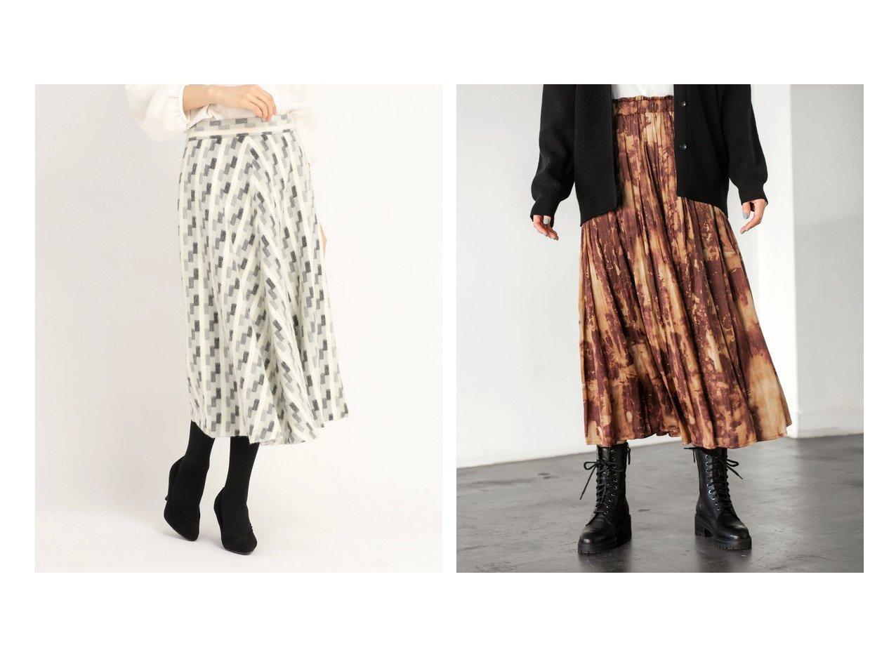 【STRAWBERRY FIELDS/ストロベリーフィールズ】のブリックシャギー スカート&【STYLE DELI/スタイルデリ】の【LUXE】ぼかし柄サテンギャザースカート スカートのおすすめ!人気、トレンド・レディースファッションの通販 おすすめで人気の流行・トレンド、ファッションの通販商品 メンズファッション・キッズファッション・インテリア・家具・レディースファッション・服の通販 founy(ファニー) https://founy.com/ ファッション Fashion レディースファッション WOMEN スカート Skirt Aライン/フレアスカート Flared A-Line Skirts エレガント オレンジ くるぶし ギャザー グラデーション サテン スニーカー タイツ ドレープ なめらか パターン フォルム フラット フリル フレア ペチコート ポケット 防寒 ミックス レギンス ロング 冬 Winter |ID:crp329100000014139