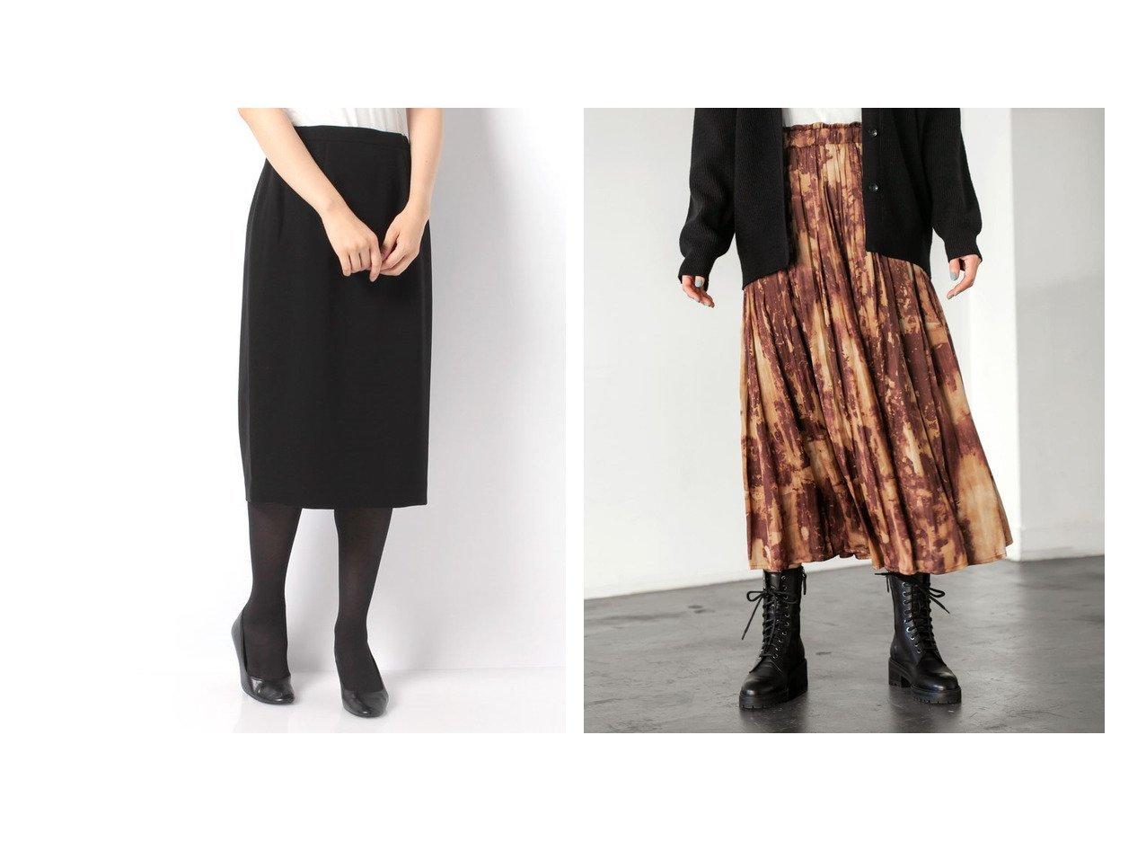 【LAPINE FORMAL/ラピーヌ フォーマル】の【オールシーズン・喪服・礼服・フォーマル用】定番フォーマルスカート&【STYLE DELI/スタイルデリ】の【LUXE】ぼかし柄サテンギャザースカート スカートのおすすめ!人気、トレンド・レディースファッションの通販 おすすめで人気の流行・トレンド、ファッションの通販商品 メンズファッション・キッズファッション・インテリア・家具・レディースファッション・服の通販 founy(ファニー) https://founy.com/ ファッション Fashion レディースファッション WOMEN スカート Skirt Aライン/フレアスカート Flared A-Line Skirts エレガント オレンジ くるぶし ギャザー グラデーション サテン スニーカー タイツ ドレープ なめらか パターン フォルム フラット フリル フレア ペチコート ポケット 防寒 ミックス レギンス ロング 冬 Winter スリット フォーマル プリーツ 人気 |ID:crp329100000014141