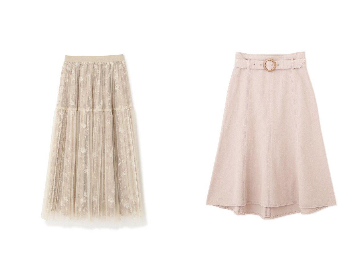 【PROPORTION BODY DRESSING/プロポーション ボディドレッシング】の《EDIT COLOGNE》二段ティアードチュールスカート&カラーマーメイドフレアスカート スカートのおすすめ!人気、トレンド・レディースファッションの通販 おすすめで人気の流行・トレンド、ファッションの通販商品 メンズファッション・キッズファッション・インテリア・家具・レディースファッション・服の通販 founy(ファニー) https://founy.com/ ファッション Fashion レディースファッション WOMEN スカート Skirt Aライン/フレアスカート Flared A-Line Skirts NEW・新作・新着・新入荷 New Arrivals カットソー サークル スタンダード マーメイド 定番 Standard 春 Spring コンパクト レース |ID:crp329100000014144