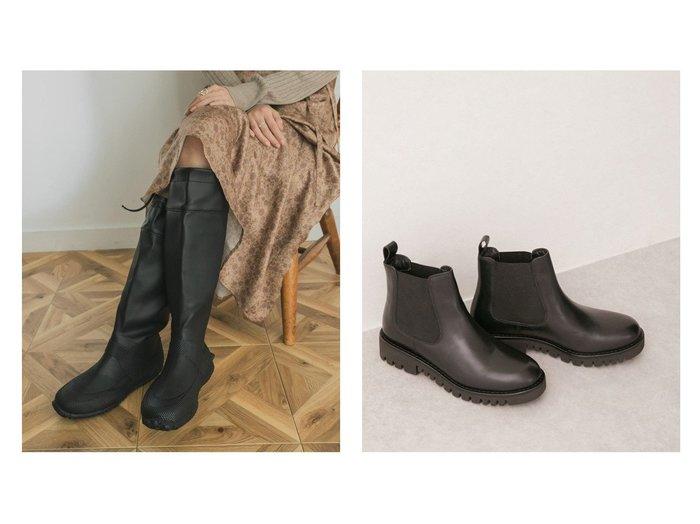 【URBAN RESEARCH/アーバンリサーチ】のロングレインシューズ&【LEINER/レイナー】のサイドゴアブーツ シューズ・靴のおすすめ!人気、トレンド・レディースファッションの通販 おすすめファッション通販アイテム レディースファッション・服の通販 founy(ファニー) ファッション Fashion レディースファッション WOMEN シューズ ショート シンプル バランス フォルム ラップ ロング A/W 秋冬 AW Autumn/Winter / FW Fall-Winter |ID:crp329100000014148
