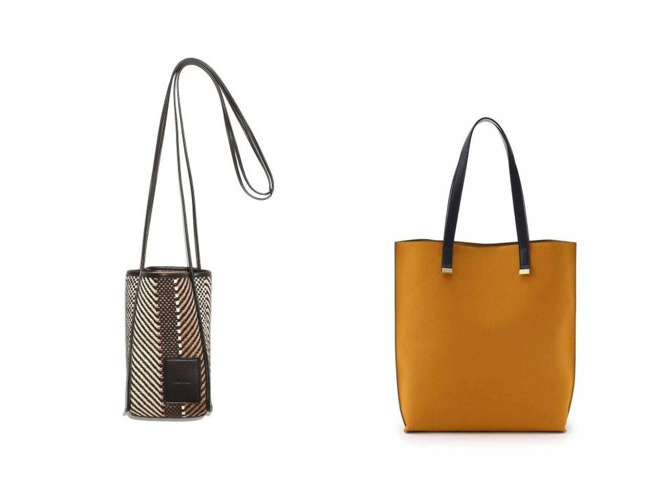 【INDIVI/インディヴィ】のプレーントートバッグ&【Mila Owen/ミラオーウェン】のボトルホルダーショルダーバッグ バッグ・鞄のおすすめ!人気、トレンド・レディースファッションの通販 おすすめで人気の流行・トレンド、ファッションの通販商品 メンズファッション・キッズファッション・インテリア・家具・レディースファッション・服の通販 founy(ファニー) https://founy.com/ ファッション Fashion レディースファッション WOMEN バッグ Bag キャンバス ショルダー シンプル ストライプ タンブラー パッチ フェイクレザー フロント スエード |ID:crp329100000014160