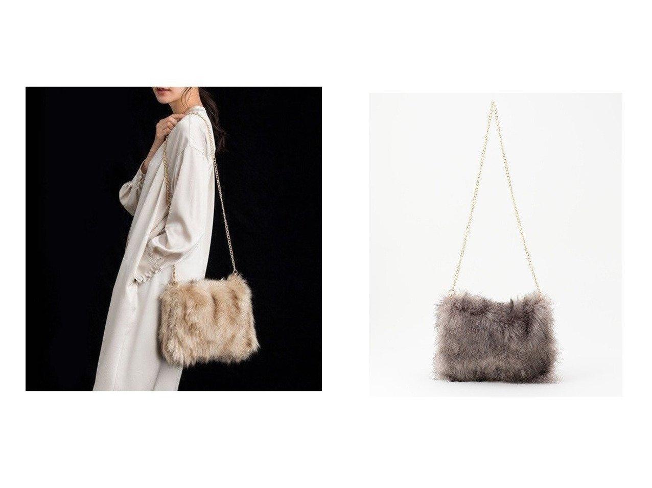 【JIYU-KU/自由区】の【2WAY】フェイクファークラッチ バッグ バッグ・鞄のおすすめ!人気、トレンド・レディースファッションの通販 おすすめで人気の流行・トレンド、ファッションの通販商品 メンズファッション・キッズファッション・インテリア・家具・レディースファッション・服の通販 founy(ファニー) https://founy.com/ ファッション Fashion レディースファッション WOMEN バッグ Bag 送料無料 Free Shipping クラッチ チェーン |ID:crp329100000014161