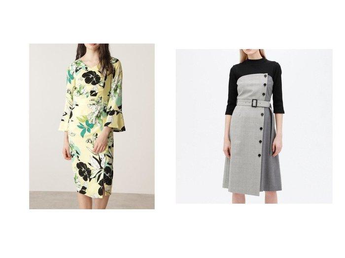 【LOVELESS/ラブレス】のチェック ブロッキング モックドレス&【Pinky&Dianne/ピンキーアンドダイアン】のカラーフラワーワンピース ワンピース・ドレスのおすすめ!人気、トレンド・レディースファッションの通販  おすすめファッション通販アイテム レディースファッション・服の通販 founy(ファニー) ファッション Fashion レディースファッション WOMEN ワンピース Dress ドレス Party Dresses オケージョン カーディガン ジャケット スリーブ フラワー プリント カットソー コンビ チェック トレンチ ドッキング ブロッキング 無地 |ID:crp329100000014194