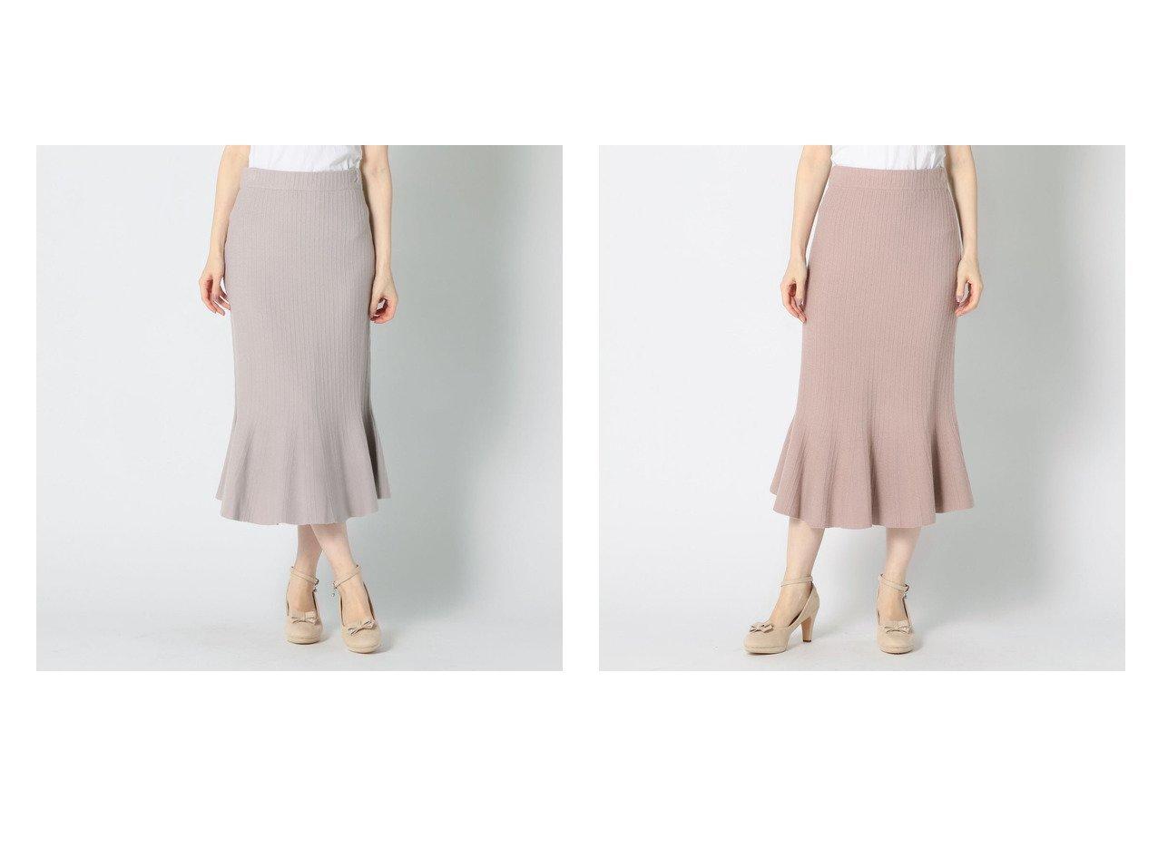 【MISCH MASCH/ミッシュマッシュ】の《田中みな実さん着用》マーメイドラインニットスカート おすすめ!人気、トレンド・レディースファッションの通販  おすすめで人気の流行・トレンド、ファッションの通販商品 メンズファッション・キッズファッション・インテリア・家具・レディースファッション・服の通販 founy(ファニー) https://founy.com/ ファッションモデル・俳優・女優 Models 女性 Women 田中みな実 Tanaka Minami ファッション Fashion レディースファッション WOMEN スカート Skirt 2020年 2020 2020-2021 秋冬 A/W AW Autumn/Winter / FW Fall-Winter 2020-2021 A/W 秋冬 AW Autumn/Winter / FW Fall-Winter シンプル マーメイド |ID:crp329100000014282