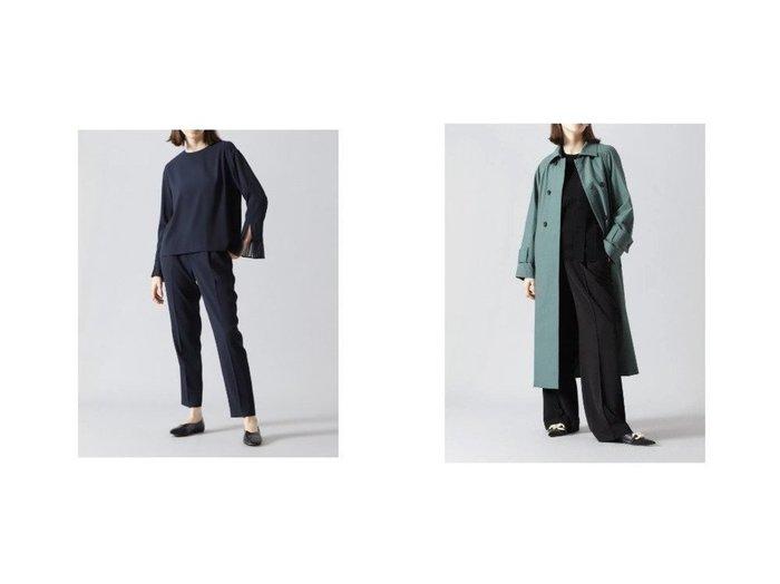 【ADORE/アドーア】のイージージョーゼットパンツ&ベネシャンジャージーパンツ パンツのおすすめ!人気、トレンド・レディースファッションの通販 おすすめファッション通販アイテム インテリア・キッズ・メンズ・レディースファッション・服の通販 founy(ファニー) https://founy.com/ ファッション Fashion レディースファッション WOMEN パンツ Pants ジャージ ジャージー センター ビッグ リラックス 吸水 シューズ シンプル ジョーゼット バランス |ID:crp329100000014288