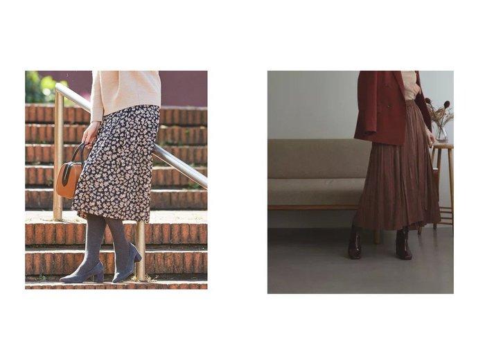 【J.PRESS/ジェイ プレス】の【洗える】アンティークフラワープリント スカート&【marjour/マージュール】のSHINY LONG SKIRT スカートのおすすめ!人気、トレンド・レディースファッションの通販 おすすめファッション通販アイテム レディースファッション・服の通販 founy(ファニー) ファッション Fashion レディースファッション WOMEN スカート Skirt ロングスカート Long Skirt 洗える ギャザー サテン なめらか ピーチ フラワー プリント ロング カットソー ジョーゼット バランス マキシ ラップ レギンス 冬 Winter 春 Spring |ID:crp329100000014295