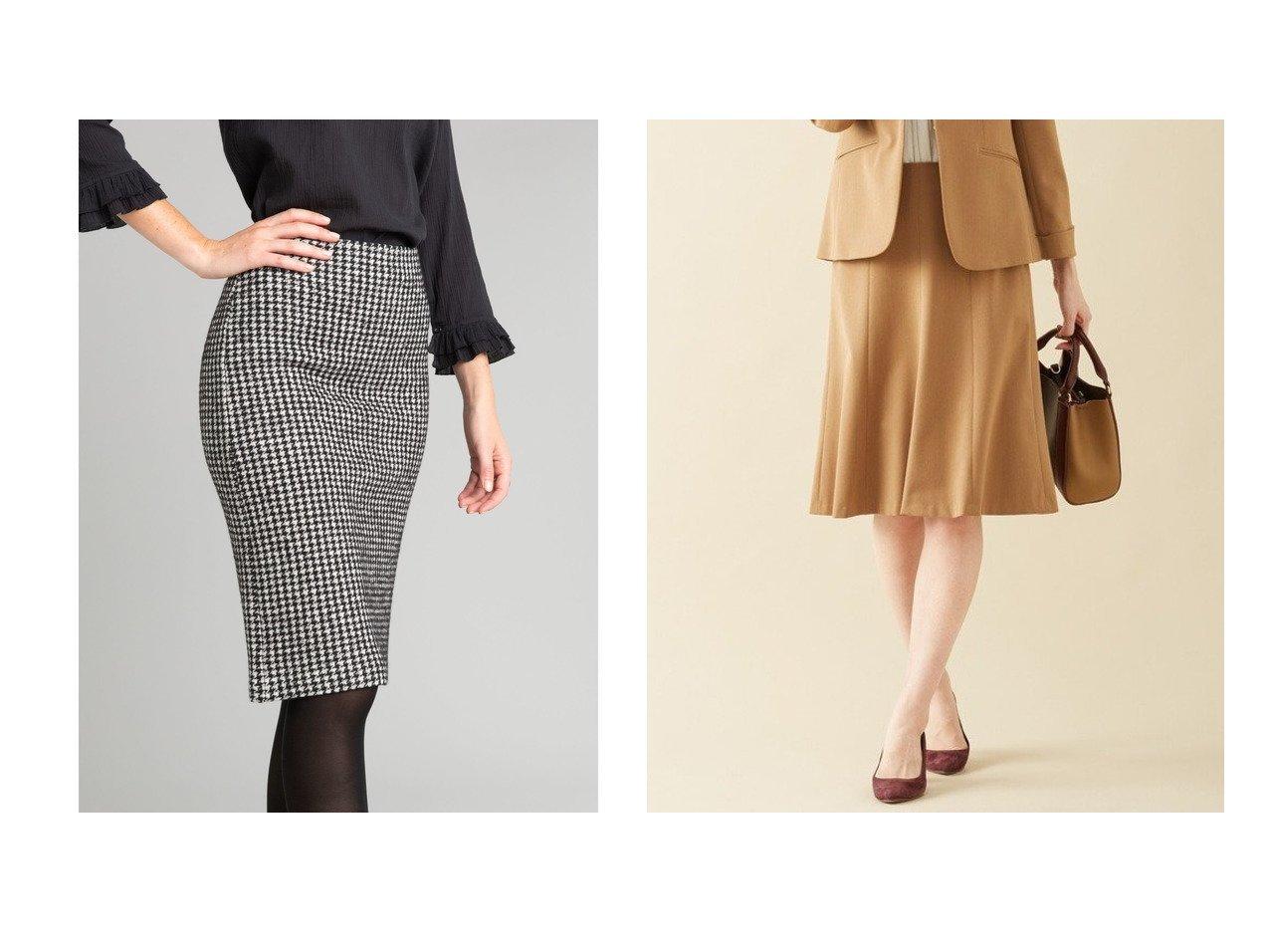 【J.PRESS/ジェイ プレス】の【スーツ対応】Rアルガンシルク スカート&【agnes b. FEMME/アニエスベー ファム】のJGB8 JUPE ハウンドトゥースミディ丈スカート ボトムスのおすすめ!人気、トレンド・レディースファッションの通販 おすすめで人気の流行・トレンド、ファッションの通販商品 メンズファッション・キッズファッション・インテリア・家具・レディースファッション・服の通販 founy(ファニー) https://founy.com/ ファッション Fashion レディースファッション WOMEN スカート Skirt スーツ Suits スーツ スカート Skirt NEW・新作・新着・新入荷 New Arrivals ストレート タイトスカート ハウンドトゥース 送料無料 Free Shipping シンプル ストレッチ スーツ セットアップ フレア ベーシック |ID:crp329100000014301