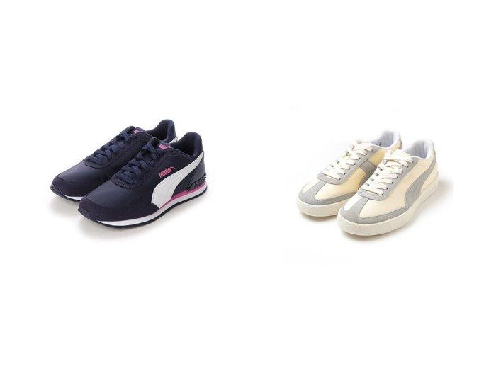 【PUMA/プーマ】のST RUNNER V2 NL BG レディーススニーカー&【emmi/エミ】の【PUMA for emmi】オスロ シティ EMMI シューズ・靴のおすすめ!人気、トレンド・レディースファッションの通販 おすすめファッション通販アイテム レディースファッション・服の通販 founy(ファニー) ファッション Fashion レディースファッション WOMEN クラシカル シューズ スポーツ 人気 2020年 2020 2020 春夏 S/S SS Spring/Summer 2020 S/S 春夏 SS Spring/Summer クッション クラシック スニーカー スポーティ フォルム フォーム フレア ベーシック ランニング 春 Spring |ID:crp329100000014313