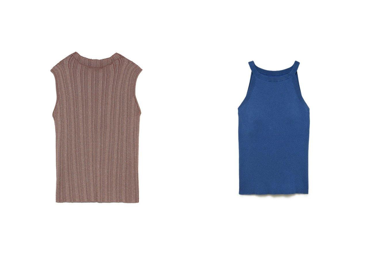 【SNIDEL/スナイデル】のノースリランダムリブニットプルオーバー&アメスリカップインリブニットプルオーバー トップス・カットソーのおすすめ!人気、トレンド・レディースファッションの通販  おすすめで人気の流行・トレンド、ファッションの通販商品 メンズファッション・キッズファッション・インテリア・家具・レディースファッション・服の通販 founy(ファニー) https://founy.com/ ファッション Fashion レディースファッション WOMEN トップス Tops Tshirt ニット Knit Tops プルオーバー Pullover アンサンブル カーディガン スタンド ノースリーブ バランス プリーツ ラベンダー インナー 春 Spring スマート セットアップ 2020年 2020 S/S 春夏 SS Spring/Summer 2020 春夏 S/S SS Spring/Summer 2020  ID:crp329100000014389