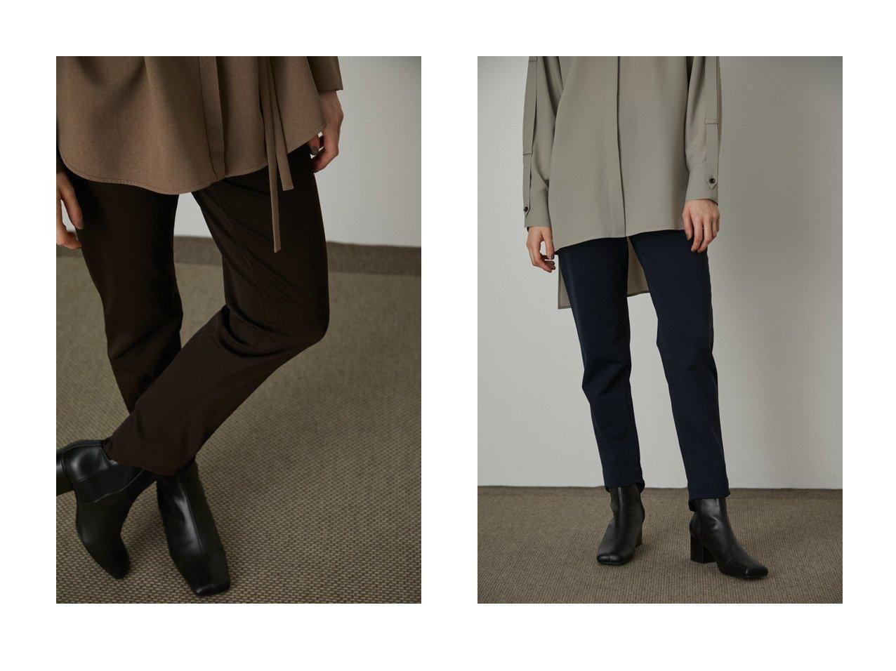 【RIM.ARK/リムアーク】のスリムパンツ パンツのおすすめ!人気、トレンド・レディースファッションの通販 おすすめで人気の流行・トレンド、ファッションの通販商品 メンズファッション・キッズファッション・インテリア・家具・レディースファッション・服の通販 founy(ファニー) https://founy.com/ ファッション Fashion レディースファッション WOMEN パンツ Pants 2021年 2021 2021 春夏 S/S SS Spring/Summer 2021 S/S 春夏 SS Spring/Summer ストレッチ スリム ヘムライン 春 Spring |ID:crp329100000014416
