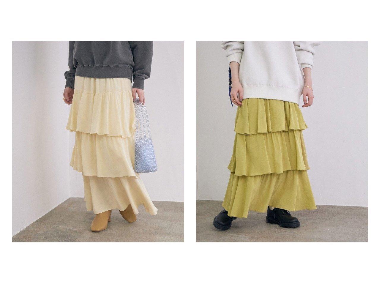 【ROPE' mademoiselle/ロペ マドモアゼル】のストレートラインティアードスカート スカートのおすすめ!人気、トレンド・レディースファッションの通販 おすすめで人気の流行・トレンド、ファッションの通販商品 メンズファッション・キッズファッション・インテリア・家具・レディースファッション・服の通販 founy(ファニー) https://founy.com/ ファッション Fashion レディースファッション WOMEN スカート Skirt ティアードスカート Tiered Skirts NEW・新作・新着・新入荷 New Arrivals ティアードスカート ドット ポケット 無地 |ID:crp329100000014434