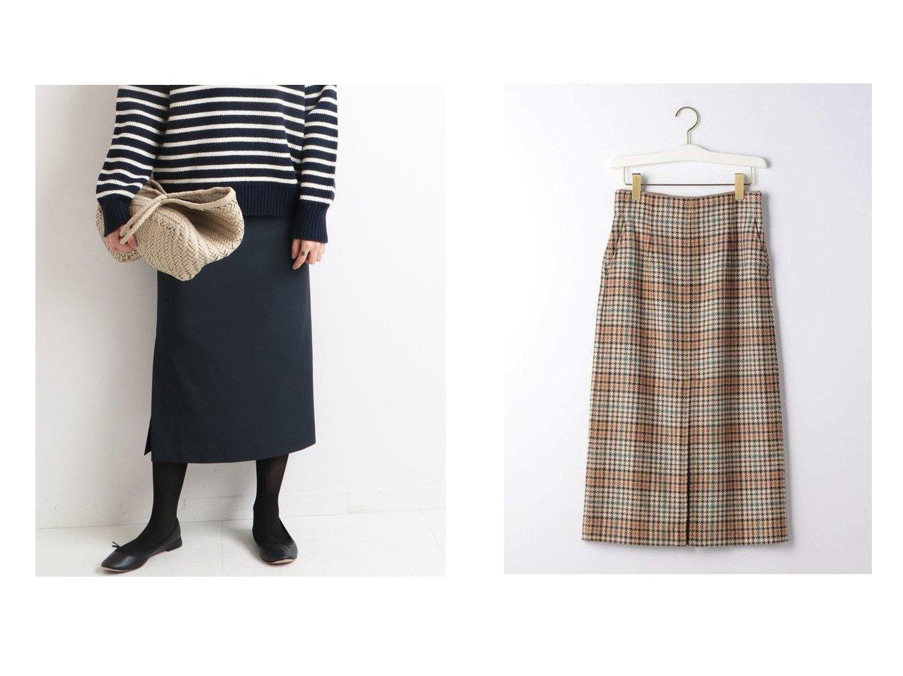 【green label relaxing / UNITED ARROWS/グリーンレーベル リラクシング / ユナイテッドアローズ】の【EMMEL REFINES】EM バリチェック スカート1&【IENA/イエナ】のスリットタイトスカート スカートのおすすめ!人気、トレンド・レディースファッションの通販 おすすめで人気の流行・トレンド、ファッションの通販商品 メンズファッション・キッズファッション・インテリア・家具・レディースファッション・服の通販 founy(ファニー) https://founy.com/ ファッション Fashion レディースファッション WOMEN スカート Skirt タイトスカート チェック フロント ボックス A/W 秋冬 AW Autumn/Winter / FW Fall-Winter NEW・新作・新着・新入荷 New Arrivals 2020年 2020 2020-2021 秋冬 A/W AW Autumn/Winter / FW Fall-Winter 2020-2021 シンプル 人気 無地 |ID:crp329100000014437