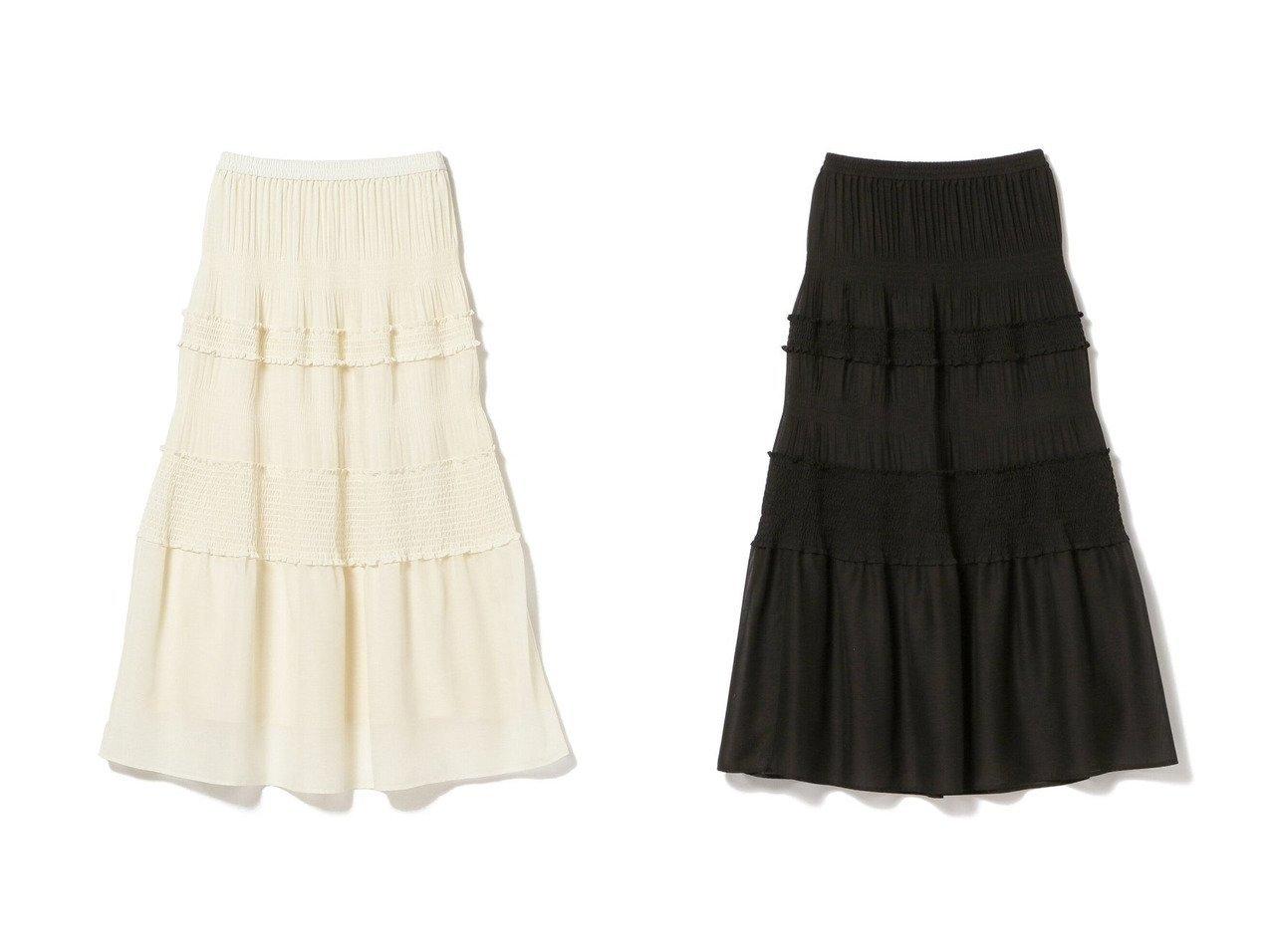【Ray BEAMS/レイ ビームス】のプリーツ シャーリング スカート スカートのおすすめ!人気、トレンド・レディースファッションの通販 おすすめで人気の流行・トレンド、ファッションの通販商品 メンズファッション・キッズファッション・インテリア・家具・レディースファッション・服の通販 founy(ファニー) https://founy.com/ ファッション Fashion レディースファッション WOMEN スカート Skirt ロングスカート Long Skirt NEW・新作・新着・新入荷 New Arrivals シャーリング セットアップ フェミニン プリーツ ロング |ID:crp329100000014443