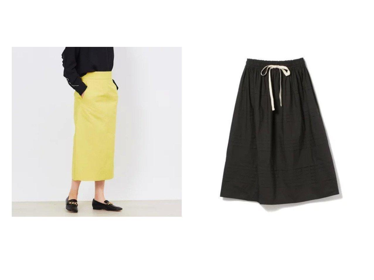 【Demi-Luxe BEAMS/デミルクス ビームス】のRobin プリーツ スカート&【DESIGN WORKS/デザイン ワークス】のグログランタイトSK スカートのおすすめ!人気、トレンド・レディースファッションの通販 おすすめで人気の流行・トレンド、ファッションの通販商品 メンズファッション・キッズファッション・インテリア・家具・レディースファッション・服の通販 founy(ファニー) https://founy.com/ ファッション Fashion レディースファッション WOMEN スカート Skirt プリーツスカート Pleated Skirts ギャザー シンプル ティアード フェミニン プリーツ マキシ ロング |ID:crp329100000014452