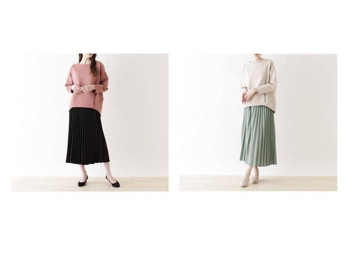 【SHOO LA RUE / DRESKIP/シューラルー ドレスキップ】の【2点セット】プルオーバージャージ+プリーツスカート スカートのおすすめ!人気、トレンド・レディースファッションの通販 おすすめファッション通販アイテム レディースファッション・服の通販 founy(ファニー) ファッション Fashion レディースファッション WOMEN スカート Skirt プリーツスカート Pleated Skirts ジャージ フェミニン プリーツ ポケット |ID:crp329100000014453