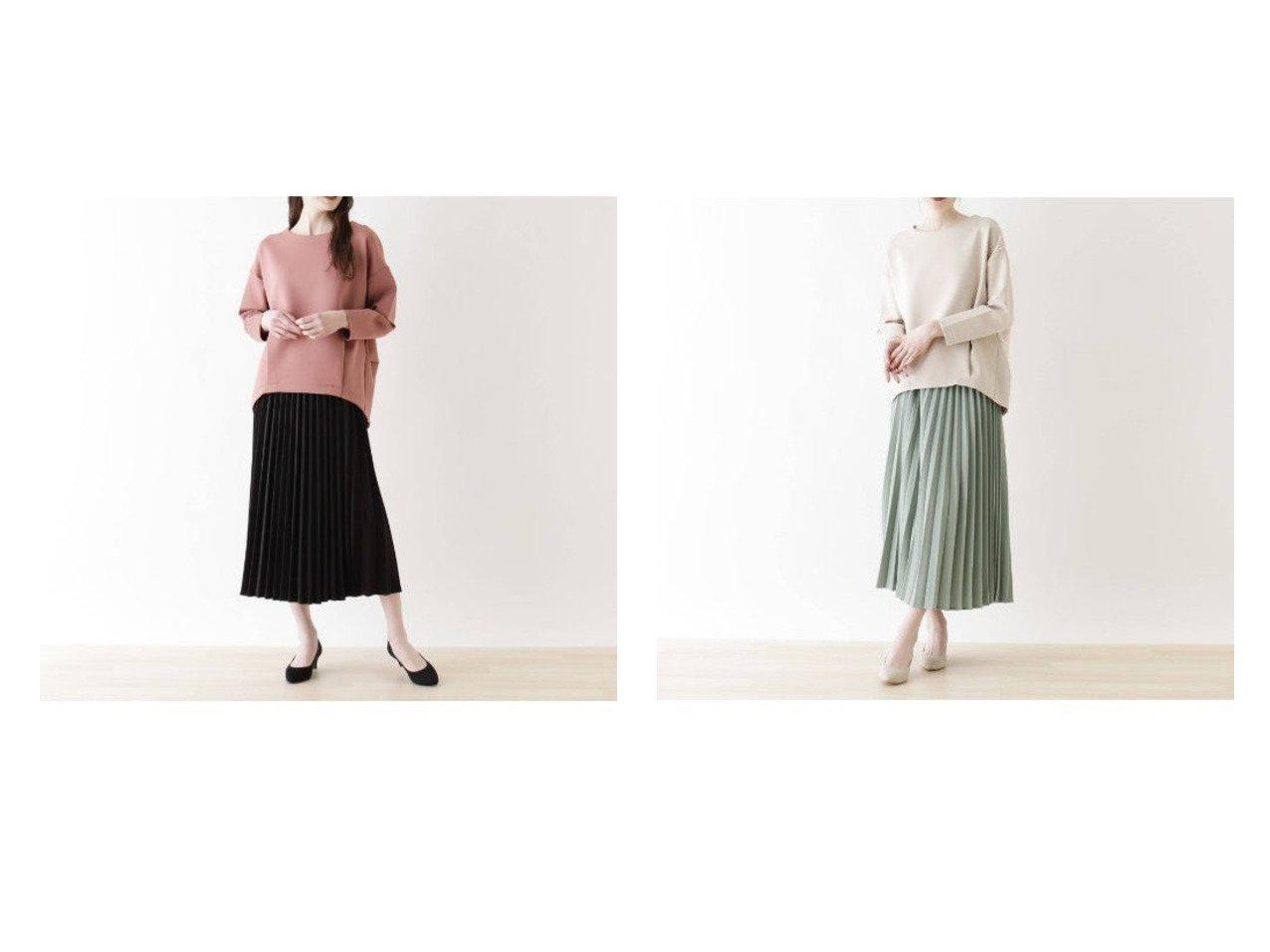 【SHOO LA RUE / DRESKIP/シューラルー ドレスキップ】の【2点セット】プルオーバージャージ+プリーツスカート スカートのおすすめ!人気、トレンド・レディースファッションの通販 おすすめで人気の流行・トレンド、ファッションの通販商品 メンズファッション・キッズファッション・インテリア・家具・レディースファッション・服の通販 founy(ファニー) https://founy.com/ ファッション Fashion レディースファッション WOMEN スカート Skirt プリーツスカート Pleated Skirts ジャージ フェミニン プリーツ ポケット |ID:crp329100000014453
