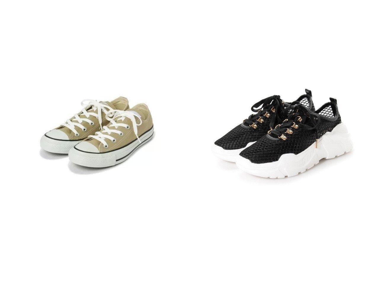 【NATURAL BEAUTY BASIC/ナチュラル ビューティー ベーシック】のコンバースキャンバスオールスターカラーズローカット&【RANDA/ランダ】のストレスフリー/ソフトレーススニーカー シューズ・靴のおすすめ!人気、トレンド・レディースファッションの通販 おすすめで人気の流行・トレンド、ファッションの通販商品 メンズファッション・キッズファッション・インテリア・家具・レディースファッション・服の通販 founy(ファニー) https://founy.com/ ファッション Fashion レディースファッション WOMEN キャンバス シューズ フラット 2021年 2021 2021 春夏 S/S SS Spring/Summer 2021 S/S 春夏 SS Spring/Summer インソール スニーカー フェミニン レース 春 Spring |ID:crp329100000014467
