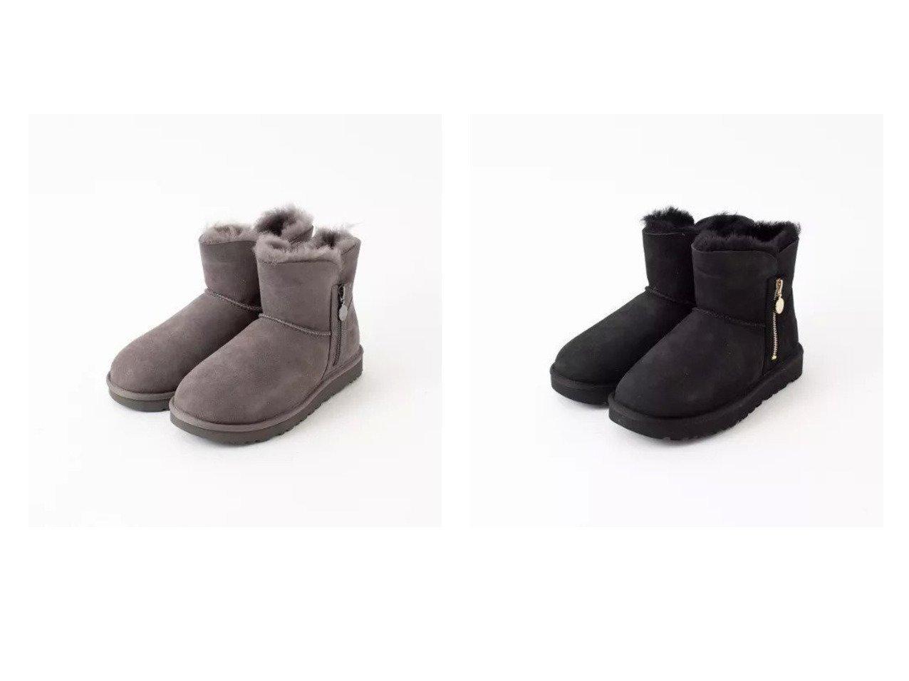 【Piche Abahouse/ピシェ アバハウス】のBailey Zip Mini ムートンブーツ シューズ・靴のおすすめ!人気、トレンド・レディースファッションの通販 おすすめで人気の流行・トレンド、ファッションの通販商品 メンズファッション・キッズファッション・インテリア・家具・レディースファッション・服の通販 founy(ファニー) https://founy.com/ ファッション Fashion レディースファッション WOMEN クラシック シューズ ジップ ミドル 冬 Winter 定番 Standard 軽量 |ID:crp329100000014468