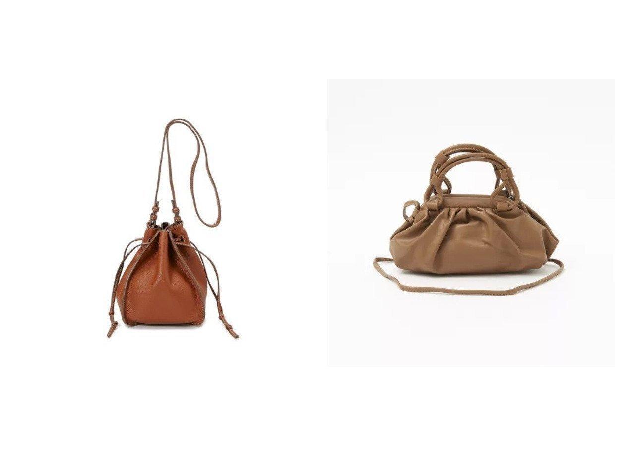 【Rouge vif/ルージュ ヴィフ】の【MOHI】ギャザーバッグ&【TOPKAPI/トプカピ】のロープハンドル巾着 2way ショルダーバッグ バッグ・鞄のおすすめ!人気、トレンド・レディースファッションの通販 おすすめで人気の流行・トレンド、ファッションの通販商品 メンズファッション・キッズファッション・インテリア・家具・レディースファッション・服の通販 founy(ファニー) https://founy.com/ ファッション Fashion レディースファッション WOMEN バッグ Bag なめらか ギャザー サンダル スニーカー モダン ショルダー シンプル 巾着  ID:crp329100000014477