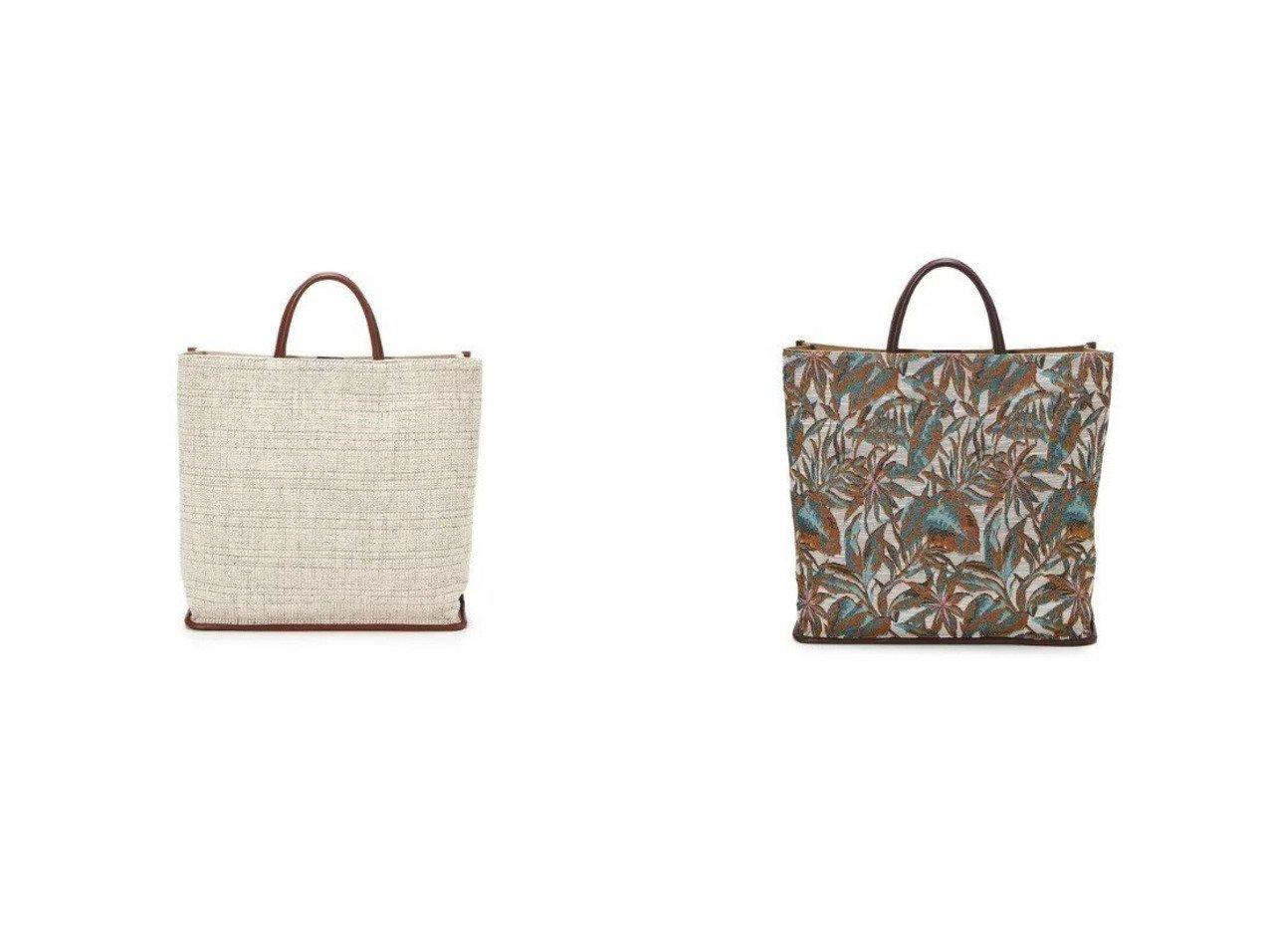 【TOPKAPI/トプカピ】のモールファブリック パイピング トートバッグ&リーフジャガード パイピング トートバッグ バッグ・鞄のおすすめ!人気、トレンド・レディースファッションの通販 おすすめで人気の流行・トレンド、ファッションの通販商品 メンズファッション・キッズファッション・インテリア・家具・レディースファッション・服の通販 founy(ファニー) https://founy.com/ ファッション Fashion レディースファッション WOMEN バッグ Bag ショルダー シンプル チャーム パイピング フォルム フランス ボタニカル リゾート  ID:crp329100000014480