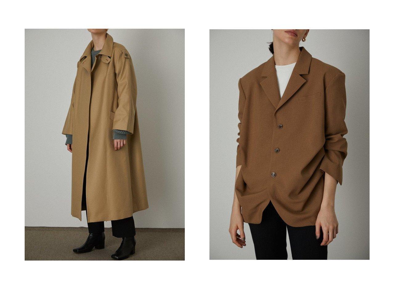 【RIM.ARK/リムアーク】のコート&ジャケット アウターのおすすめ!人気、トレンド・レディースファッションの通販 おすすめで人気の流行・トレンド、ファッションの通販商品 メンズファッション・キッズファッション・インテリア・家具・レディースファッション・服の通販 founy(ファニー) https://founy.com/ ファッション Fashion レディースファッション WOMEN アウター Coat Outerwear コート Coats ジャケット Jackets 2021年 2021 2021 春夏 S/S SS Spring/Summer 2021 S/S 春夏 SS Spring/Summer インド クール コンパクト スマート ロング 春 Spring |ID:crp329100000014493
