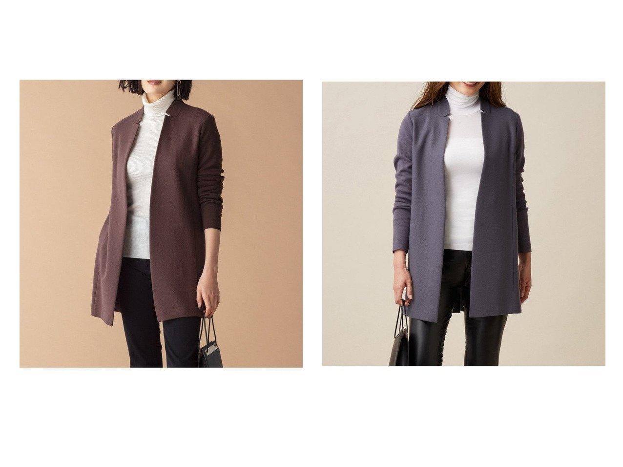 【iCB/アイシービー】のMilled Jersey ライトアウター アウターのおすすめ!人気、トレンド・レディースファッションの通販 おすすめで人気の流行・トレンド、ファッションの通販商品 メンズファッション・キッズファッション・インテリア・家具・レディースファッション・服の通販 founy(ファニー) https://founy.com/ ファッション Fashion レディースファッション WOMEN アウター Coat Outerwear コート Coats ジャケット Jackets インナー 秋 Autumn/Fall カーディガン ジャケット ジャージー デニム ドッキング 人気 ワイド ワーク 冬 Winter |ID:crp329100000014498