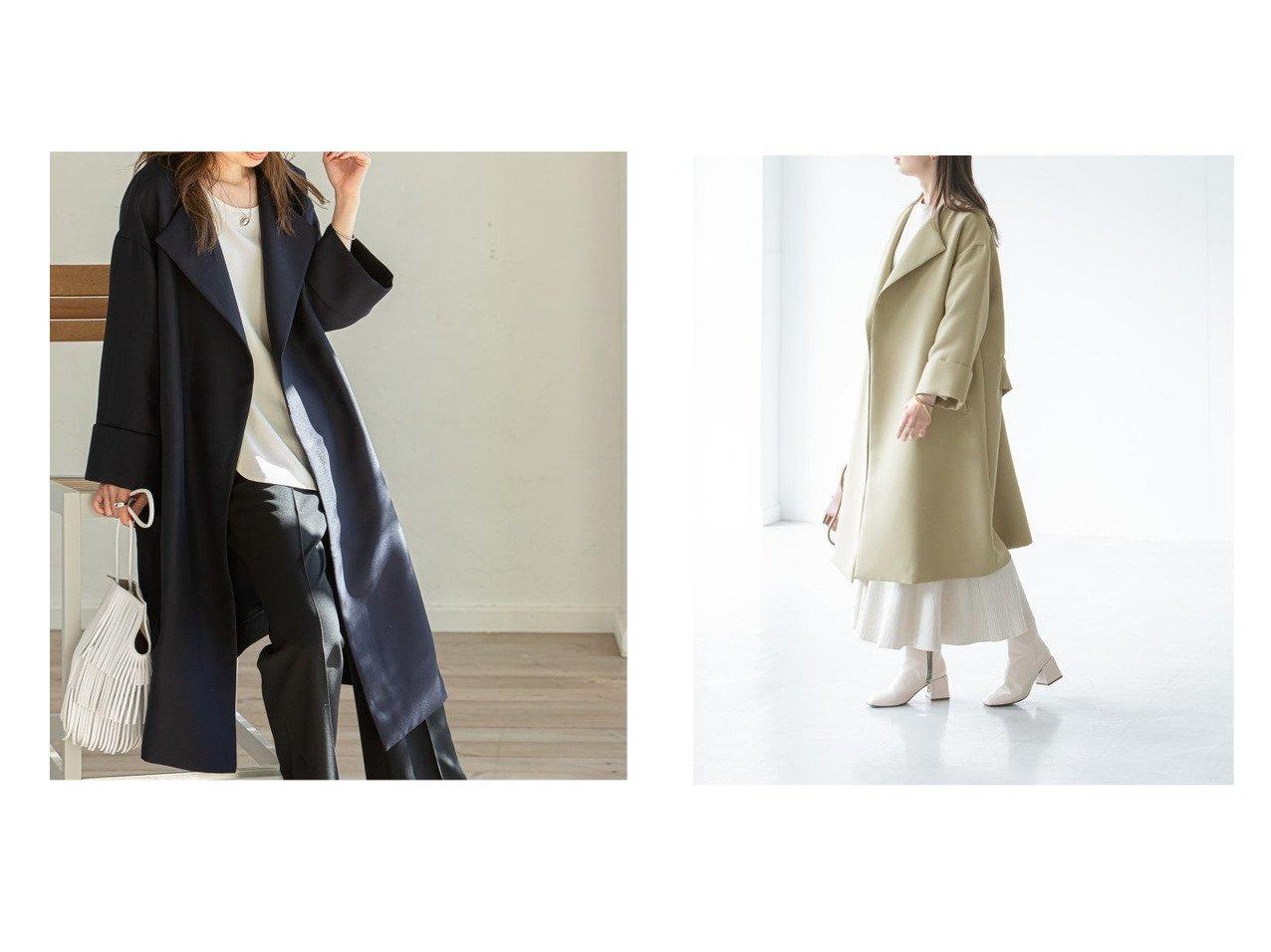【NOBLE / Spick & Span/ノーブル / スピック&スパン】の《追加》トリプルクロスガウンコート アウターのおすすめ!人気、トレンド・レディースファッションの通販 おすすめで人気の流行・トレンド、ファッションの通販商品 メンズファッション・キッズファッション・インテリア・家具・レディースファッション・服の通販 founy(ファニー) https://founy.com/ ファッション Fashion レディースファッション WOMEN アウター Coat Outerwear コート Coats 春 Spring ガウン ジャケット デニム リラックス 2021年 2021 再入荷 Restock/Back in Stock/Re Arrival S/S 春夏 SS Spring/Summer 2021 春夏 S/S SS Spring/Summer 2021 |ID:crp329100000014502