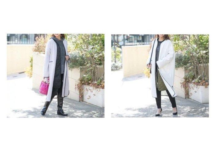 【VICKY/ビッキー】のライナー付きパイピングライトコート アウターのおすすめ!人気、トレンド・レディースファッションの通販 おすすめファッション通販アイテム レディースファッション・服の通販 founy(ファニー) ファッション Fashion レディースファッション WOMEN アウター Coat Outerwear コート Coats キルティング スリット パイピング ライナー |ID:crp329100000014520