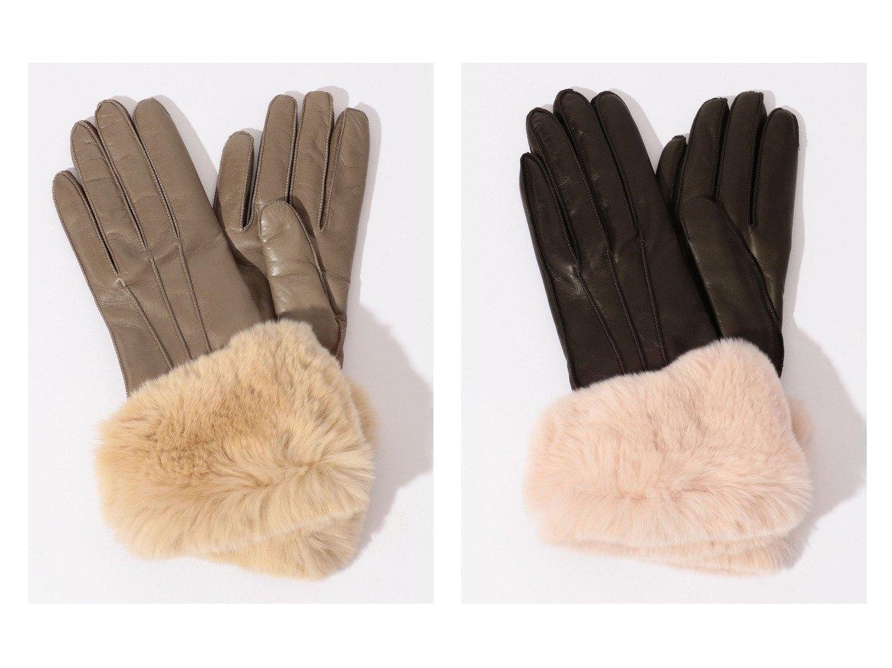 【TOMORROWLAND GOODs/トゥモローランド グッズ】のGala Gloves レッキスファーグローブ おすすめ!人気、トレンド・レディースファッションの通販  おすすめで人気の流行・トレンド、ファッションの通販商品 メンズファッション・キッズファッション・インテリア・家具・レディースファッション・服の通販 founy(ファニー) https://founy.com/ ファッション Fashion レディースファッション WOMEN 手袋 Gloves A/W 秋冬 AW Autumn/Winter / FW Fall-Winter イタリア 冬 Winter |ID:crp329100000014603