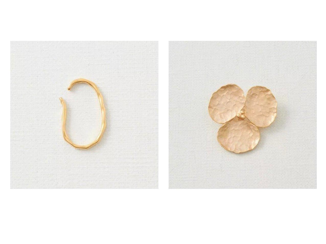【collex/コレックス】の【ピッシェアンス】WAVE Line ear cuff(gol&【ピッシェアンス】Flower Hammered finish おすすめ!人気、トレンド・レディースファッションの通販  おすすめで人気の流行・トレンド、ファッションの通販商品 メンズファッション・キッズファッション・インテリア・家具・レディースファッション・服の通販 founy(ファニー) https://founy.com/ ファッション Fashion レディースファッション WOMEN アクセサリー イヤリング コーティング シルバー シンプル スエード テクスチャー フープ ポーチ アンティーク フラワー ブローチ プレート メタル モチーフ |ID:crp329100000014607