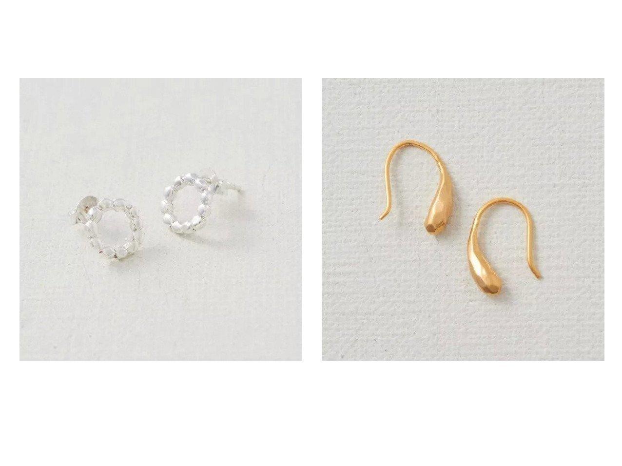 【collex/コレックス】の【ピッシェアンス】Grainy ring Pierce(sil&【ピッシェアンス】Wave drop Pierce(gold) おすすめ!人気、トレンド・レディースファッションの通販  おすすめで人気の流行・トレンド、ファッションの通販商品 メンズファッション・キッズファッション・インテリア・家具・レディースファッション・服の通販 founy(ファニー) https://founy.com/ ファッション Fashion レディースファッション WOMEN ジュエリー Jewelry リング Rings アクセサリー シルバー スエード ポーチ |ID:crp329100000014611