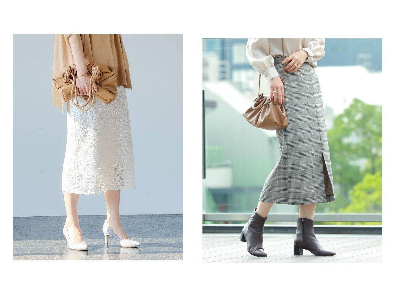 【Ray BEAMS/レイ ビームス】のカット ロング タイトスカート&【green label relaxing / UNITED ARROWS/グリーンレーベル リラクシング / ユナイテッドアローズ】のFFC ペタル レース Iライン スカート スカートのおすすめ!人気、トレンド・レディースファッションの通販 おすすめで人気の流行・トレンド、ファッションの通販商品 メンズファッション・キッズファッション・インテリア・家具・レディースファッション・服の通販 founy(ファニー) https://founy.com/ ファッション Fashion レディースファッション WOMEN スカート Skirt ロングスカート Long Skirt 春 Spring 秋 Autumn/Fall シューズ トレンド フェミニン フラット レース ロング NEW・新作・新着・新入荷 New Arrivals ストライプ スリット タイトスカート チェック フロント |ID:crp329100000014667