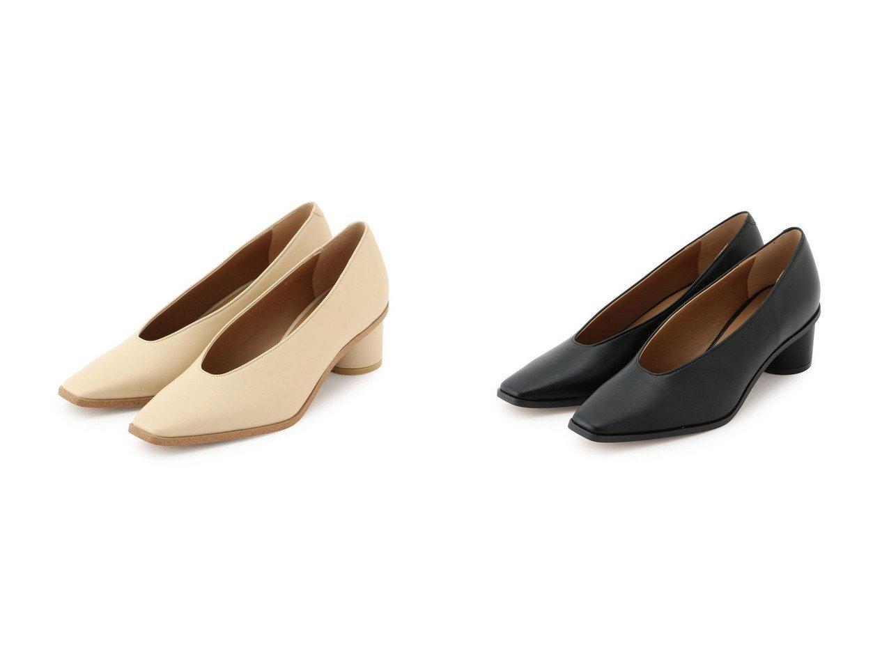 【Adam et Rope/アダム エ ロペ】のスクエアスリットカットシューズ シューズ・靴のおすすめ!人気、トレンド・レディースファッションの通販 おすすめで人気の流行・トレンド、ファッションの通販商品 メンズファッション・キッズファッション・インテリア・家具・レディースファッション・服の通販 founy(ファニー) https://founy.com/ ファッション Fashion レディースファッション WOMEN 2021年 2021 2021 春夏 S/S SS Spring/Summer 2021 S/S 春夏 SS Spring/Summer カッティング シューズ スクエア バランス フォルム ベーシック 春 Spring  ID:crp329100000014684