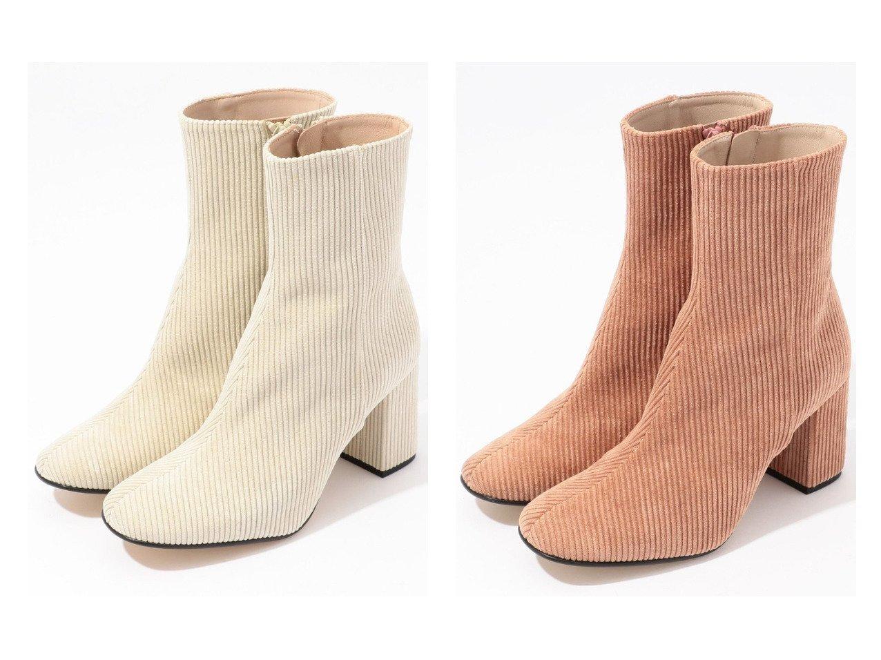 【TOMORROWLAND GOODs/トゥモローランド グッズ】のMARISA REY コーデュロイショートブーツ シューズ・靴のおすすめ!人気、トレンド・レディースファッションの通販 おすすめで人気の流行・トレンド、ファッションの通販商品 メンズファッション・キッズファッション・インテリア・家具・レディースファッション・服の通販 founy(ファニー) https://founy.com/ ファッション Fashion レディースファッション WOMEN イタリア コーデュロイ シューズ ショート  ID:crp329100000014686