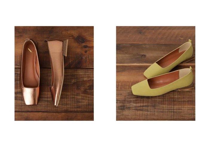 【N.Natural Beauty basic/エヌ ナチュラルビューティーベーシック】のオーバーヒールスクエアパンプス シューズ・靴のおすすめ!人気、トレンド・レディースファッションの通販 おすすめファッション通販アイテム レディースファッション・服の通販 founy(ファニー) ファッション Fashion レディースファッション WOMEN シューズ スリム デニム トレンド ベーシック ワイド |ID:crp329100000014687