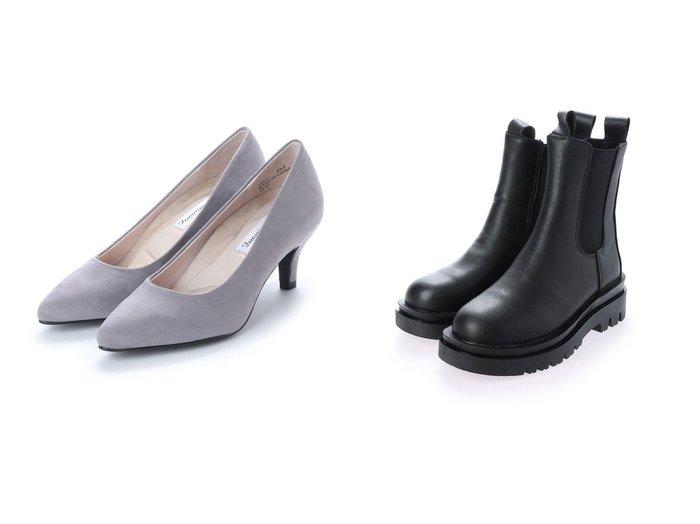 【SVEC/シュベック】のサイドゴアタンクソールブーツ&【Feminine Cafe/フェミニンカフェ】のレディースパンプス 7863 シューズ・靴のおすすめ!人気、トレンド・レディースファッションの通販 おすすめファッション通販アイテム レディースファッション・服の通販 founy(ファニー)  ファッション Fashion レディースファッション WOMEN インソール エレガント クッション シンプル フェミニン ライニング A/W 秋冬 AW Autumn/Winter / FW Fall-Winter |ID:crp329100000014693