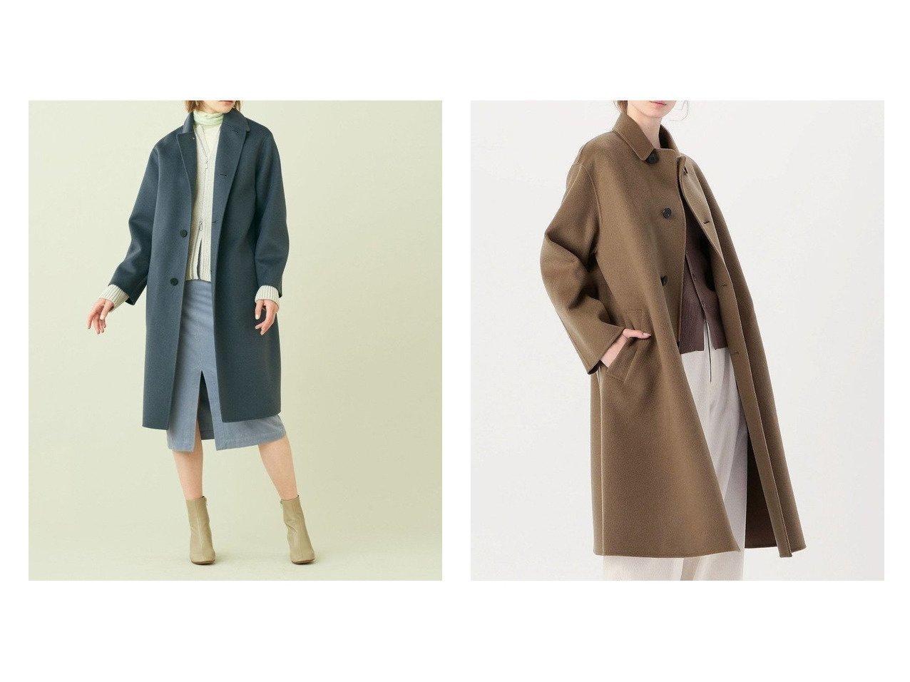 【GALERIE VIE / TOMORROWLAND/ギャルリー ヴィー】の【WEB先行予約】ウールダブルフェイス ダスターコート アウターのおすすめ!人気、トレンド・レディースファッションの通販 おすすめで人気の流行・トレンド、ファッションの通販商品 メンズファッション・キッズファッション・インテリア・家具・レディースファッション・服の通販 founy(ファニー) https://founy.com/ ファッション Fashion レディースファッション WOMEN アウター Coat Outerwear コート Coats ジャケット Jackets 2020年 2020 2020-2021 秋冬 A/W AW Autumn/Winter / FW Fall-Winter 2020-2021 A/W 秋冬 AW Autumn/Winter / FW Fall-Winter なめらか ジャケット バランス ベーシック 冬 Winter  ID:crp329100000014726