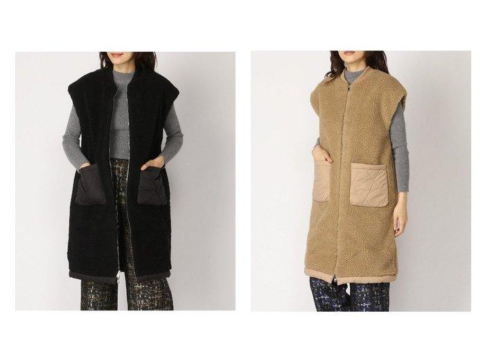 【FROM FIRST MUSEE/フロムファーストミュゼ】のボアベスト アウターのおすすめ!人気、トレンド・レディースファッションの通販 おすすめファッション通販アイテム レディースファッション・服の通販 founy(ファニー) ファッション Fashion レディースファッション WOMEN アウター Coat Outerwear コート Coats ジャケット Jackets キルティング ジャケット ベスト |ID:crp329100000014743