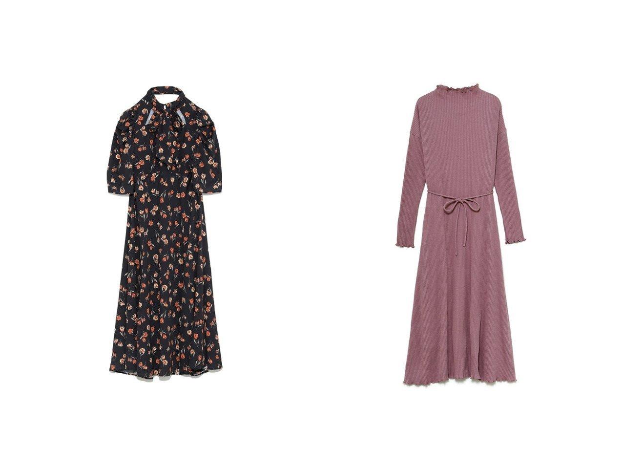 【SNIDEL/スナイデル】のSustainaハイネックリブカットワンピース&【Lily Brown/リリーブラウン】のカッティング花柄ワンピース ワンピース・ドレスのおすすめ!人気、トレンド・レディースファッションの通販 おすすめで人気の流行・トレンド、ファッションの通販商品 メンズファッション・キッズファッション・インテリア・家具・レディースファッション・服の通販 founy(ファニー) https://founy.com/ ファッション Fashion レディースファッション WOMEN ワンピース Dress インナー 春 Spring カッティング ギャザー クラシカル スマート フラワー プリント リボン ロング ワーク 2021年 2021 S/S 春夏 SS Spring/Summer 2021 春夏 S/S SS Spring/Summer 2021 |ID:crp329100000014761