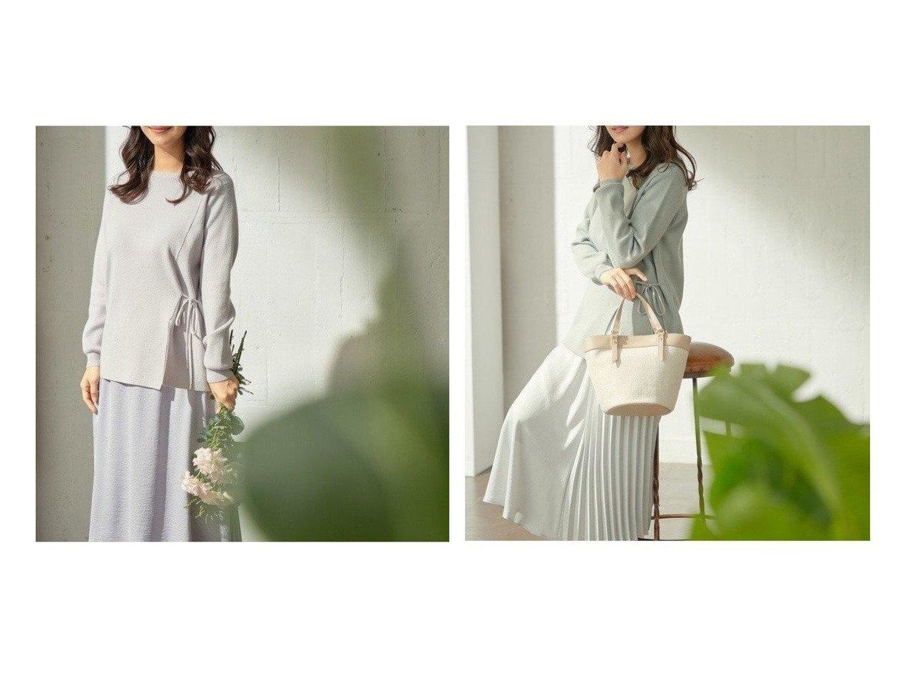 【any SiS/エニィ スィス】の【2SET】サイドスリットニット×2WAYサテンスカート セットアップ ワンピース・ドレスのおすすめ!人気、トレンド・レディースファッションの通販 おすすめで人気の流行・トレンド、ファッションの通販商品 メンズファッション・キッズファッション・インテリア・家具・レディースファッション・服の通販 founy(ファニー) https://founy.com/ ファッション Fashion レディースファッション WOMEN セットアップ Setup スカート Skirt 洗える サテン シンプル スリット セットアップ トレンド フェミニン フラット プリーツ リボン 送料無料 Free Shipping NEW・新作・新着・新入荷 New Arrivals |ID:crp329100000014765