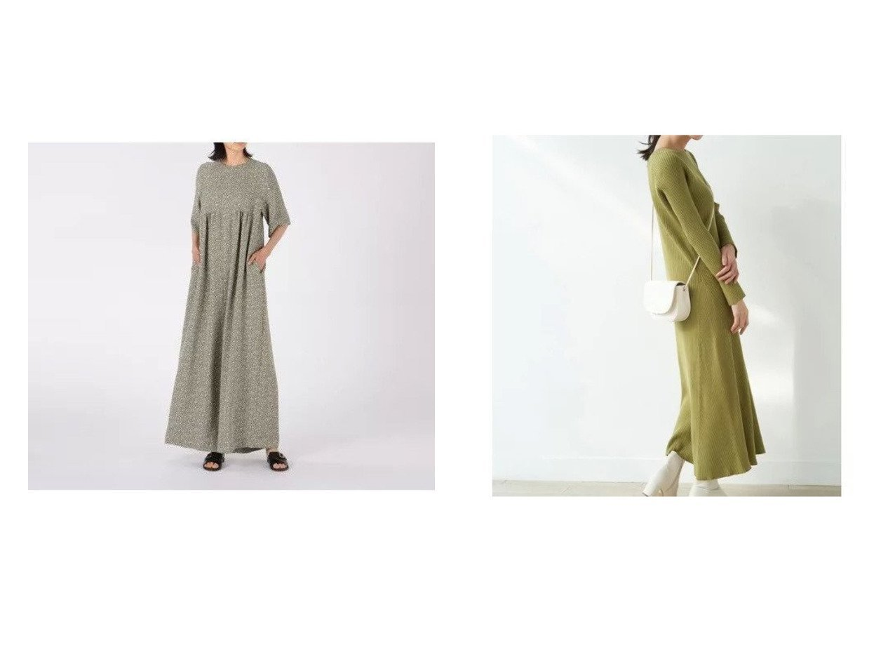 【Shinzone/シンゾーン】のARABESQUE ALLINONE&【Rope Picnic/ロペピクニック】のオーガニックコットンマーメイドシルエットニットワンピース ワンピース・ドレスのおすすめ!人気、トレンド・レディースファッションの通販 おすすめで人気の流行・トレンド、ファッションの通販商品 メンズファッション・キッズファッション・インテリア・家具・レディースファッション・服の通販 founy(ファニー) https://founy.com/ ファッション Fashion レディースファッション WOMEN ワンピース Dress オールインワン ワンピース All In One Dress サロペット Salopette ニットワンピース Knit Dresses エレガント 春 Spring 秋 Autumn/Fall カーディガン シンプル ジャケット ジーンズ スカーフ ストール 長袖 バランス ポケット マーメイド レギンス 冬 Winter  ID:crp329100000014771