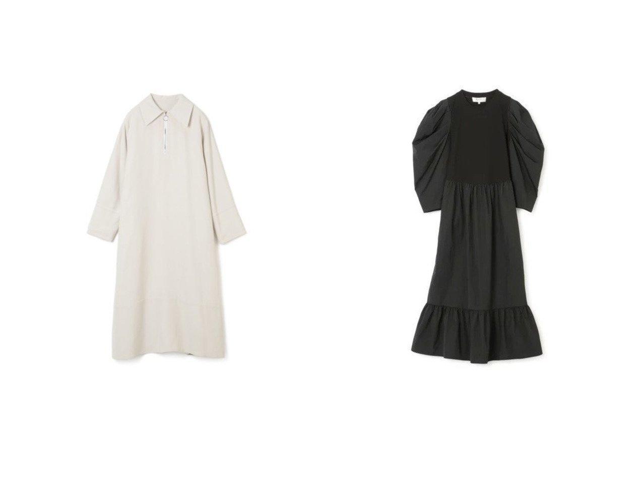【LE CIEL BLEU/ルシェル ブルー】のMaxi Shirt ワンピース&【Sea NEW YORK/シー ニューヨーク】のNADJA TAFFETA COMBI MIDI DRESS ワンピース・ドレスのおすすめ!人気、トレンド・レディースファッションの通販 おすすめで人気の流行・トレンド、ファッションの通販商品 メンズファッション・キッズファッション・インテリア・家具・レディースファッション・服の通販 founy(ファニー) https://founy.com/ ファッション Fashion レディースファッション WOMEN ワンピース Dress ドレス Party Dresses カフス ビッグ モダン 人気 長袖 2021年 2021 2021 春夏 S/S SS Spring/Summer 2021 S/S 春夏 SS Spring/Summer コンビ ジャージー スリーブ タフタ ドレス フォーマル フリル  ID:crp329100000014774
