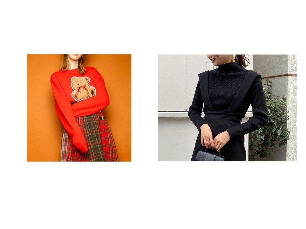 【rienda/リエンダ】のウォッシャブルハイN RIB KNIT TOP&【Candy Stripper/キャンディストリッパー】のLOOKS LONELY TEDDY KNIT トップス・カットソーのおすすめ!人気、トレンド・レディースファッションの通販 おすすめで人気の流行・トレンド、ファッションの通販商品 メンズファッション・キッズファッション・インテリア・家具・レディースファッション・服の通販 founy(ファニー) https://founy.com/ ファッション Fashion レディースファッション WOMEN トップス Tops Tshirt ニット Knit Tops A/W 秋冬 AW Autumn/Winter / FW Fall-Winter アクリル 2020年 2020 2020-2021 秋冬 A/W AW Autumn/Winter / FW Fall-Winter 2020-2021 ハイネック 定番 Standard 洗える |ID:crp329100000014852