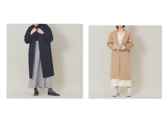 【collex/コレックス】の【WEB限定】《カプセルロッサ》ノーカラーコート 別注・限定・コラボなど、おすすめ!人気トレンド・レディースファッション通販 おすすめファッション通販アイテム レディースファッション・服の通販 founy(ファニー) ファッション Fashion レディースファッション WOMEN アウター Coat Outerwear コート Coats イタリア |ID:crp329100000014897