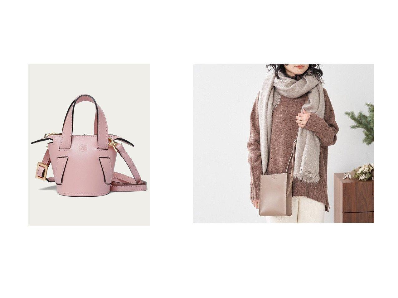 【Odette e Odile/オデット エ オディール】のALMIRA Mini Bucket Bag&【collex/コレックス】の【THE CASE×collex】スクエアミニショルダー 別注・限定・コラボなど、おすすめ!人気トレンド・レディースファッション通販 おすすめで人気の流行・トレンド、ファッションの通販商品 メンズファッション・キッズファッション・インテリア・家具・レディースファッション・服の通販 founy(ファニー) https://founy.com/ ファッション Fashion レディースファッション WOMEN バッグ Bag NEW・新作・新着・新入荷 New Arrivals アクセサリー 別注  ID:crp329100000014904