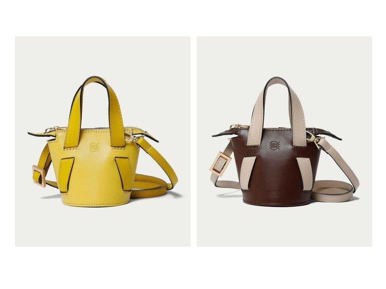 【Odette e Odile/オデット エ オディール】のALMIRA Mini Bucket Bag 別注・限定・コラボなど、おすすめ!人気トレンド・レディースファッション通販 おすすめで人気の流行・トレンド、ファッションの通販商品 メンズファッション・キッズファッション・インテリア・家具・レディースファッション・服の通販 founy(ファニー) https://founy.com/ ファッション Fashion レディースファッション WOMEN バッグ Bag NEW・新作・新着・新入荷 New Arrivals アクセサリー 別注 |ID:crp329100000014908